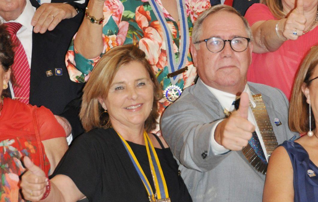 Rotary Club Dénia estrena nueva presidencia y junta directiva 2021-2022