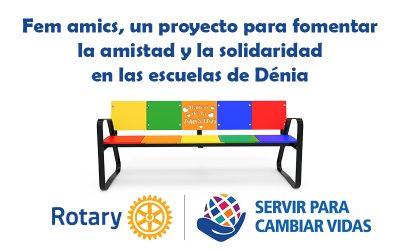 Fem amics: el proyecto local del Rotary Dénia para fomentar la amistad