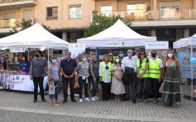 Nuestro club rotario participa en la Feria de Asociaciones de Dénia